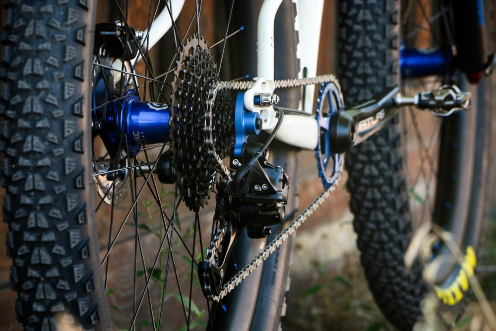 Sklar handmade mountain bike