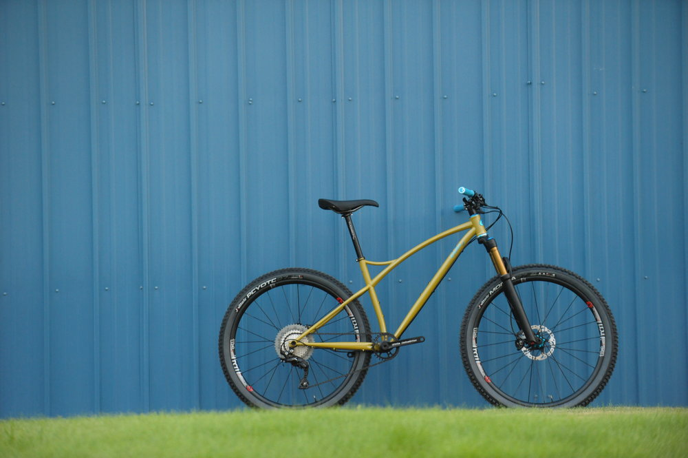Sklar custom steel mountain bike frame