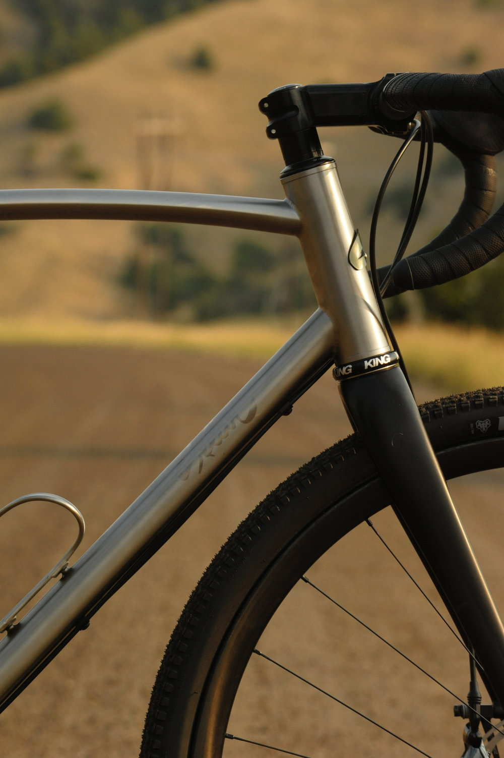 Sklar custom ti all road gravel bike