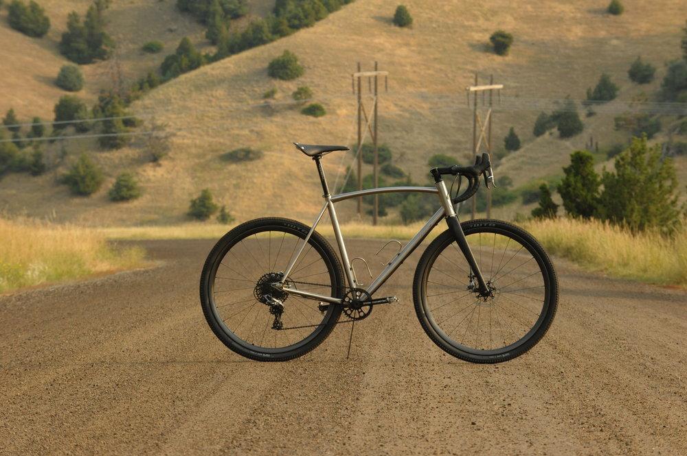 Sklar custom titanium all road bike