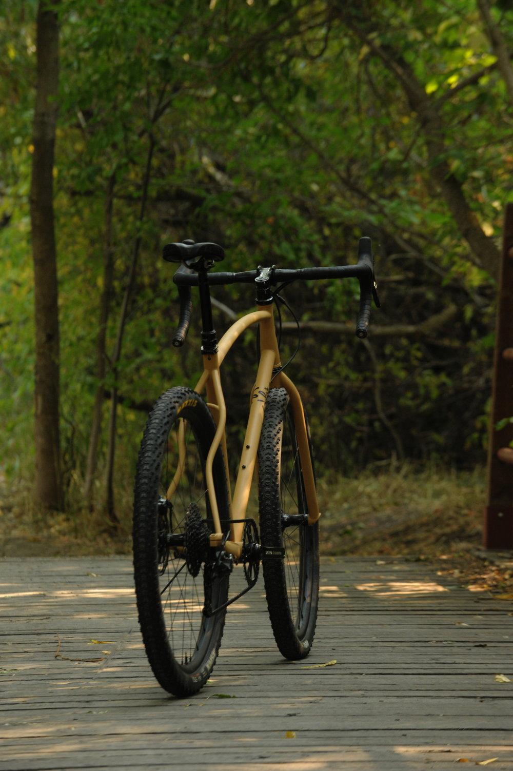 sklar steel monster cross bike