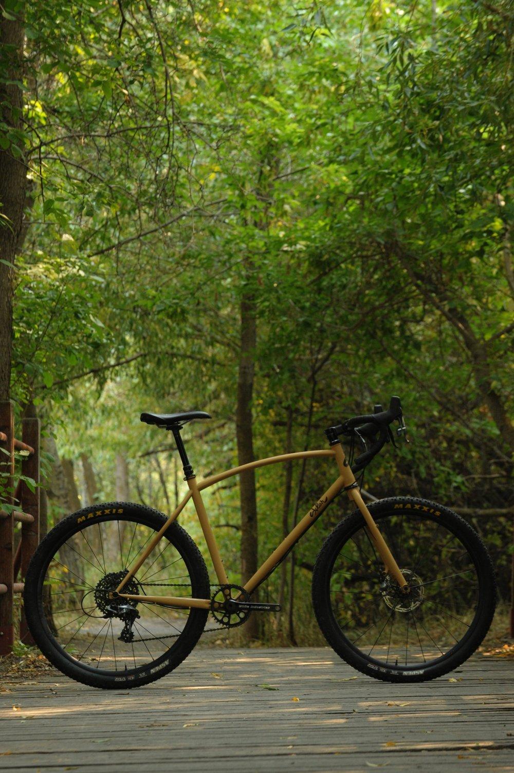 steel monstercross bike