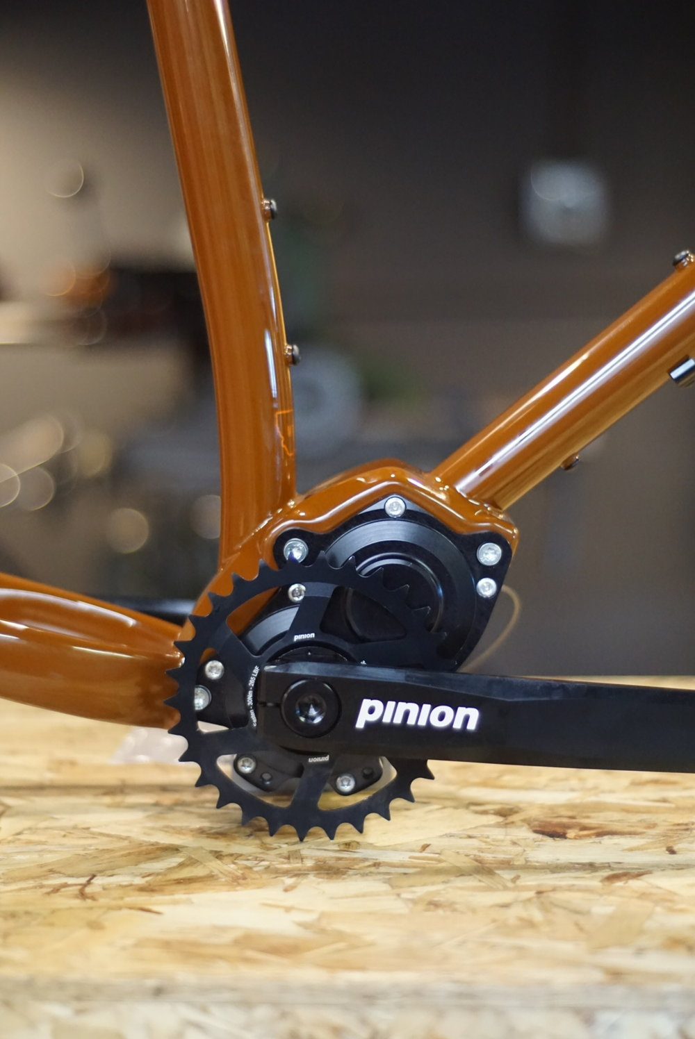 sklar custom pinion gearbox bike