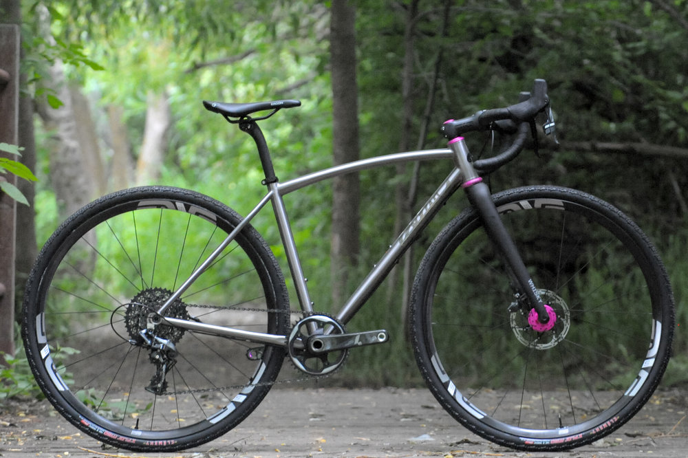 sklar titanium all road gravel bike