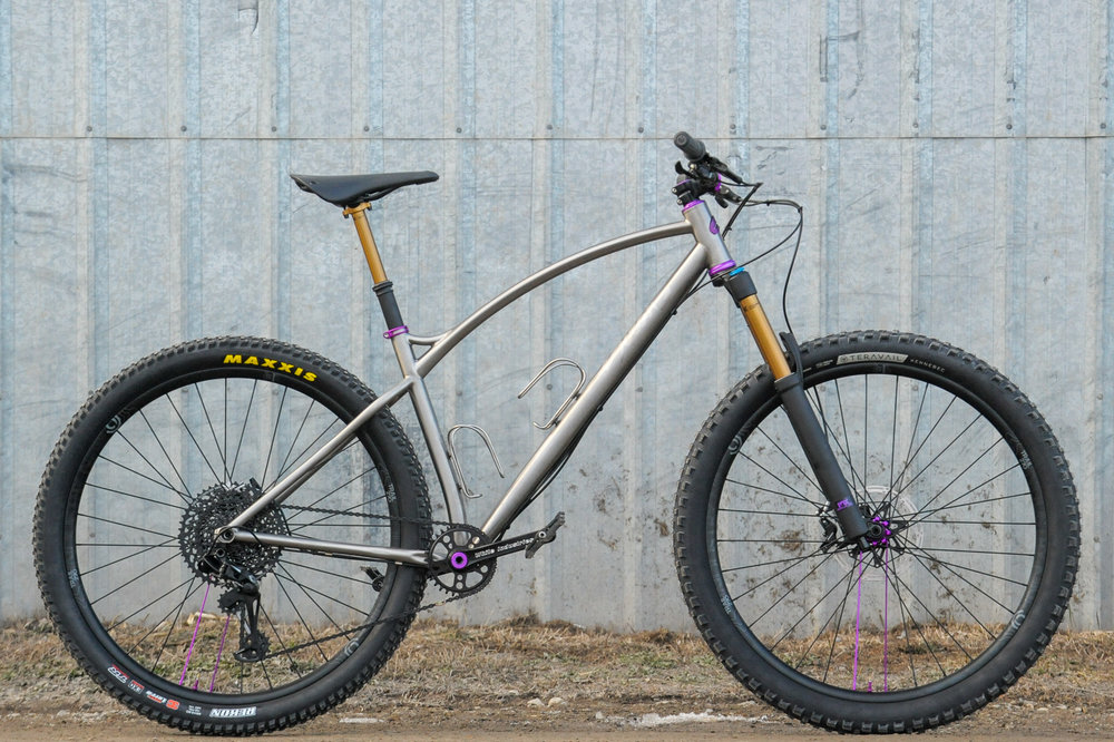 sklar titanium mountain bike