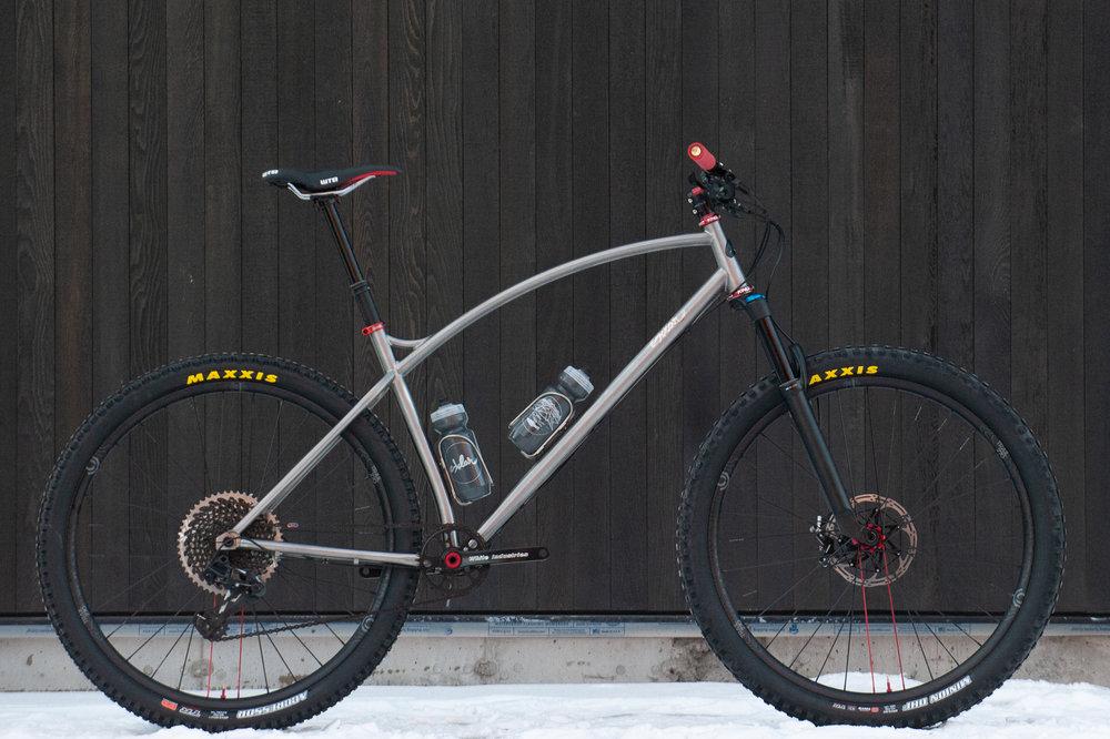 Sklar custom titanium mtb 2.6