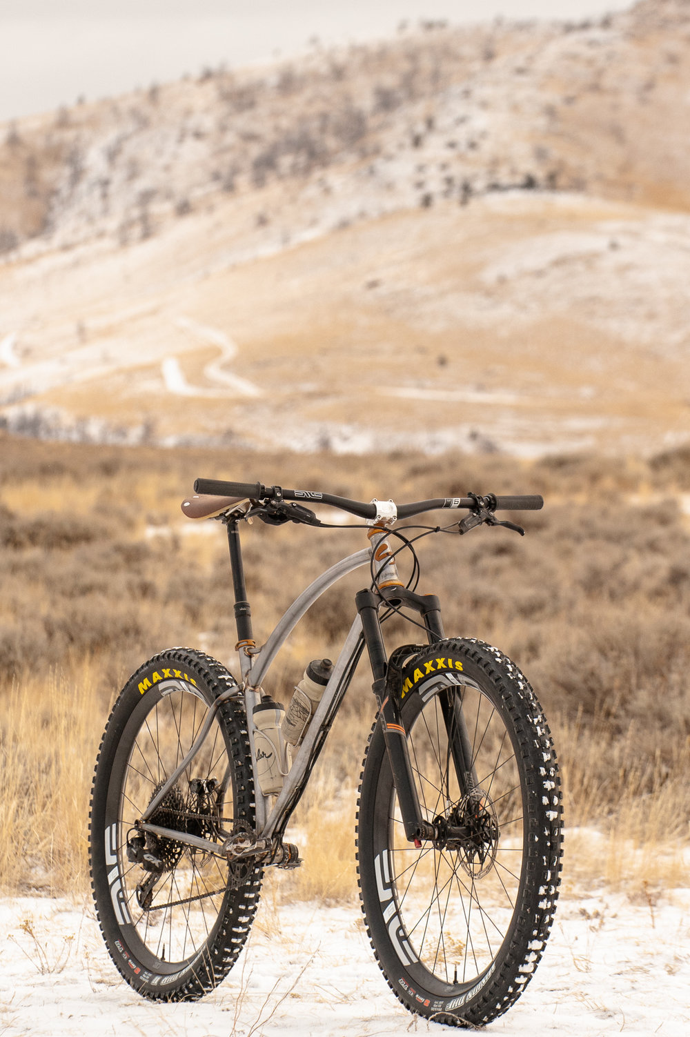 sklar steel mountainbike prototype hardtail