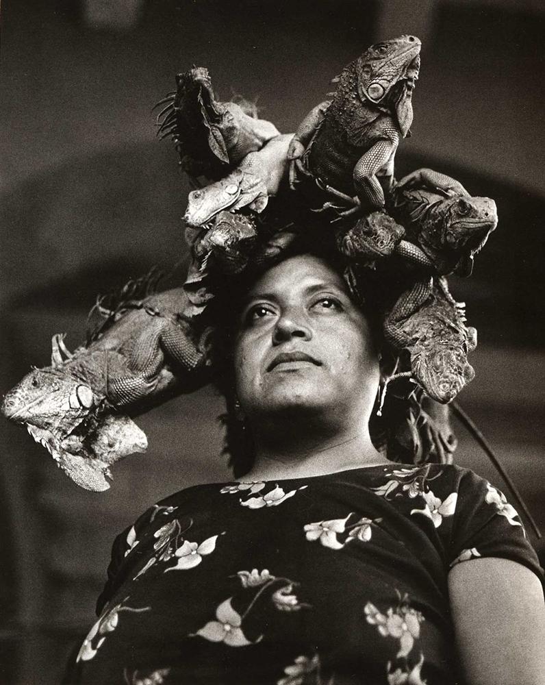 Nuestra señora de las iguanas (Graciela Iturbide, Juchitán, 1979).jpg