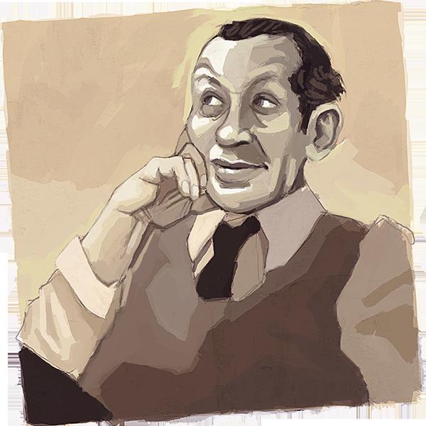 E. E. Cummings / Ilustración de A. Basteiro