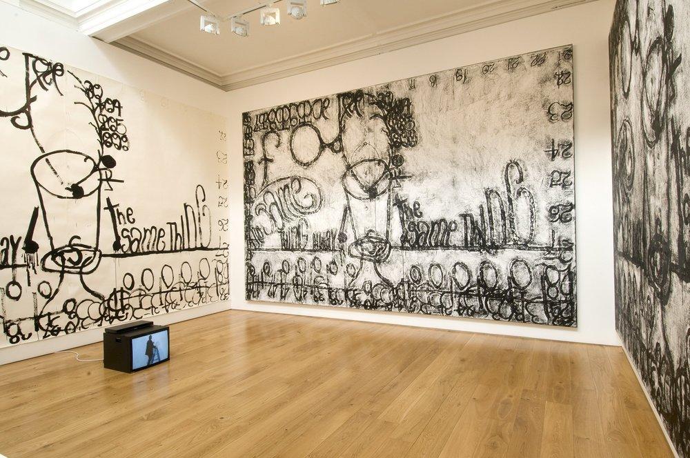 Combinación de las dos (Matt Mullican, 2008) Foto propiedad de la galería Karsten Schubert (Londres)