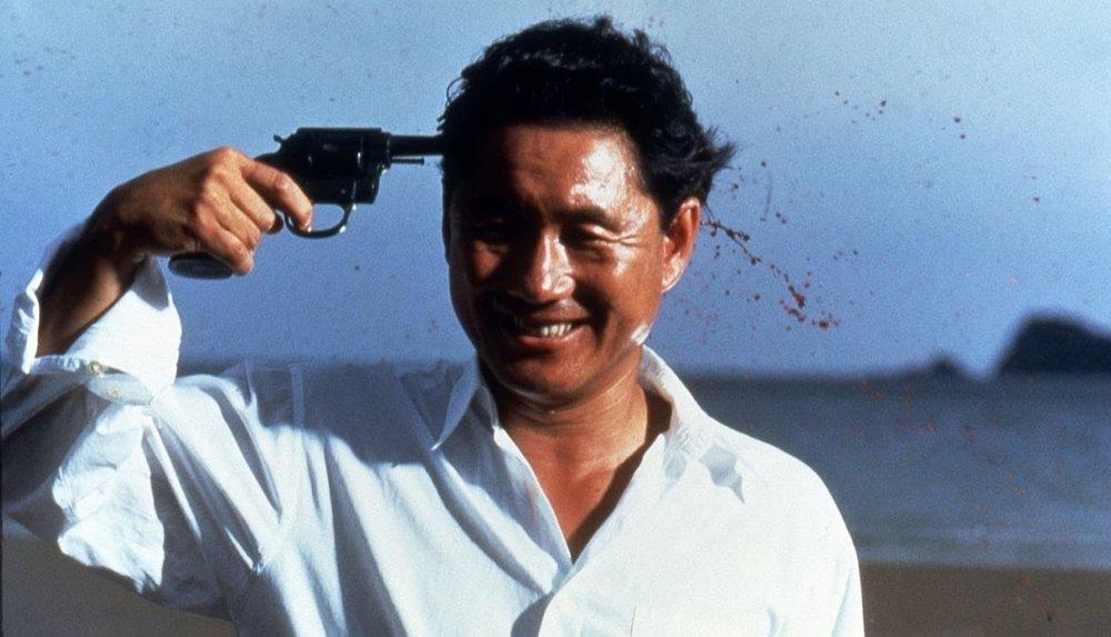Takeshi Kitano en Sonatine (1993)