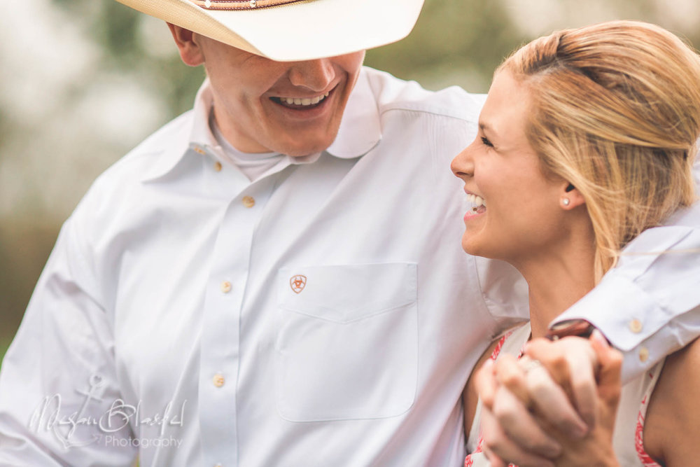 Santa Fe, Texas Engagement Session