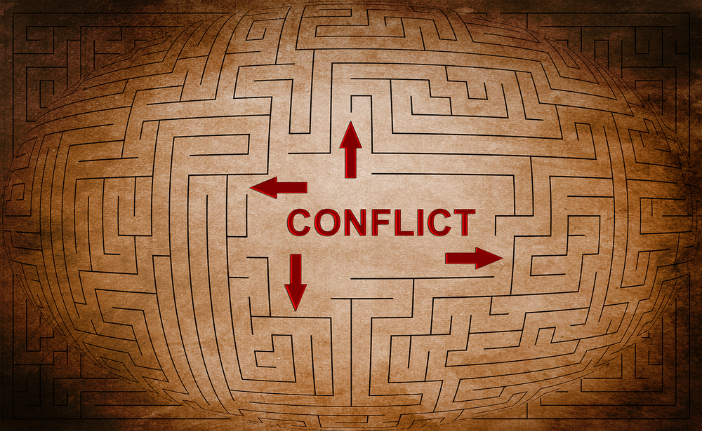 The right path to conflict resolution is critical.