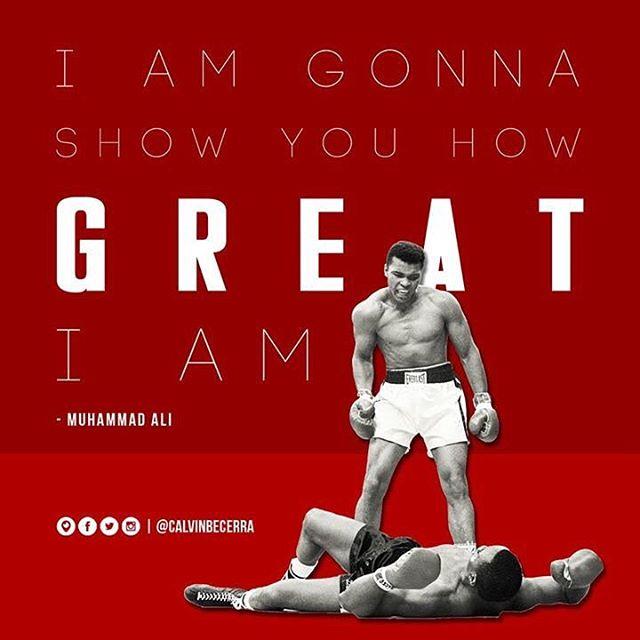 #TheGreatest #Ali 👊🏾👊🏾