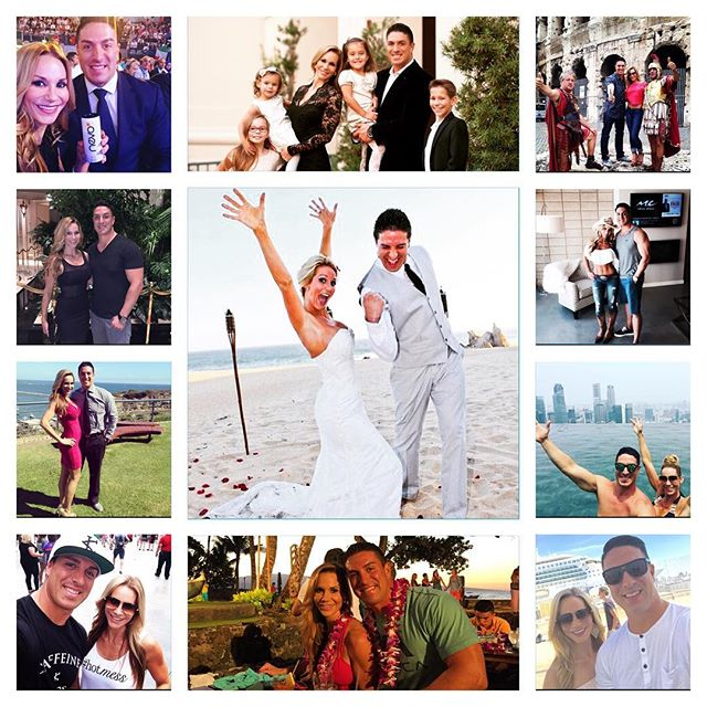 #HappyAnniversary to my beautiful bride 👰🏼 @shannonbecerra . Thank you for 6 beautiful years and a family I couldn't be more proud of. We've accomplished a lot together but we are nowhere close to finished what we are set out to do. I love you and thank you for taking my last name. 👨🏻👸🏼 #CalvinAndShannon #6Years 💏