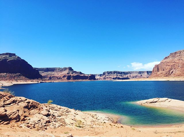 Paradise in the desert ⁉️⁉️⁉️ #LakePowell