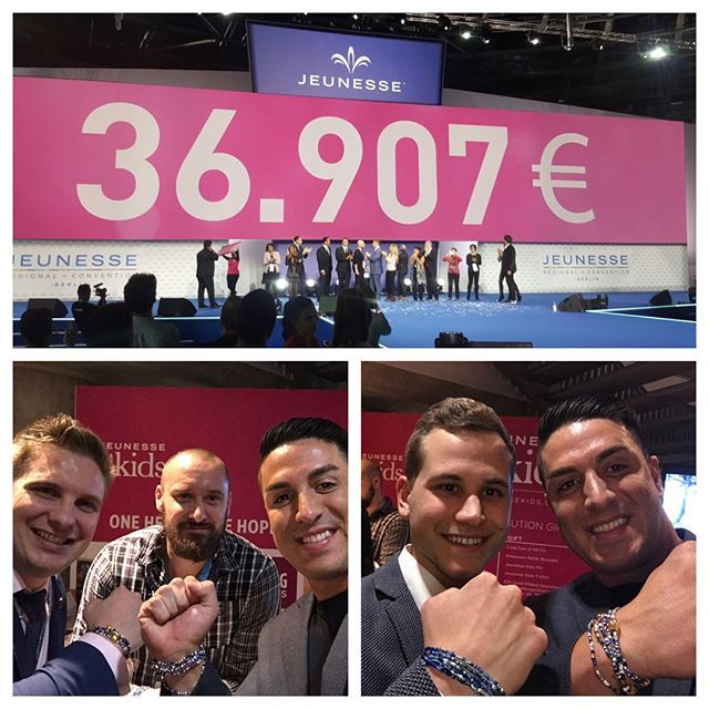 We surpassed our goal this weekend of raising €20.000 for Kinderleben Hospital❗️Great job to all of the teammates that donated. #JeunesseKids ❤️❤️❤️