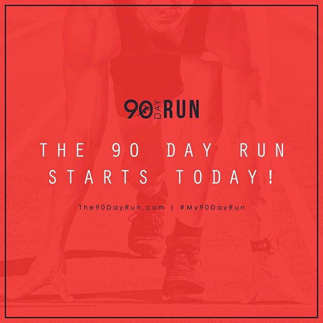 """Today marks the start of one of our biggest 90 Day Runs! Today we all set out for massive action in our businesses for 90 days straight! If you have not downloaded your 90 Day Run Gameplan Booklet yet, head over to The90DayRun.com and get it ASAP. #LETSGO #My90DayRun """"If you have everything under control, your'e not moving fast enough."""""""