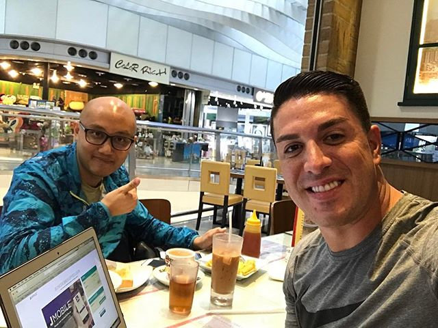 Back with my boy @firesamuel in Hong Kong! Have built a business with him now for 7 years! I am grateful for our partnership. #Huslte #Entrepreneur #Global