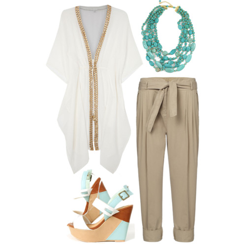 Oval Outfit