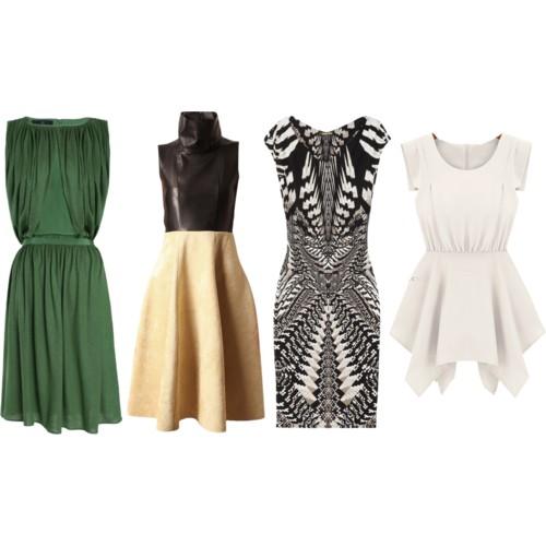 Rectangle Dresses