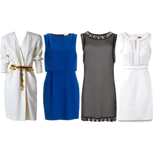 Triangle Dresses