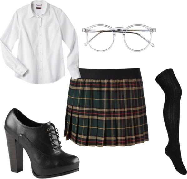 School Girl Pleated Skirt