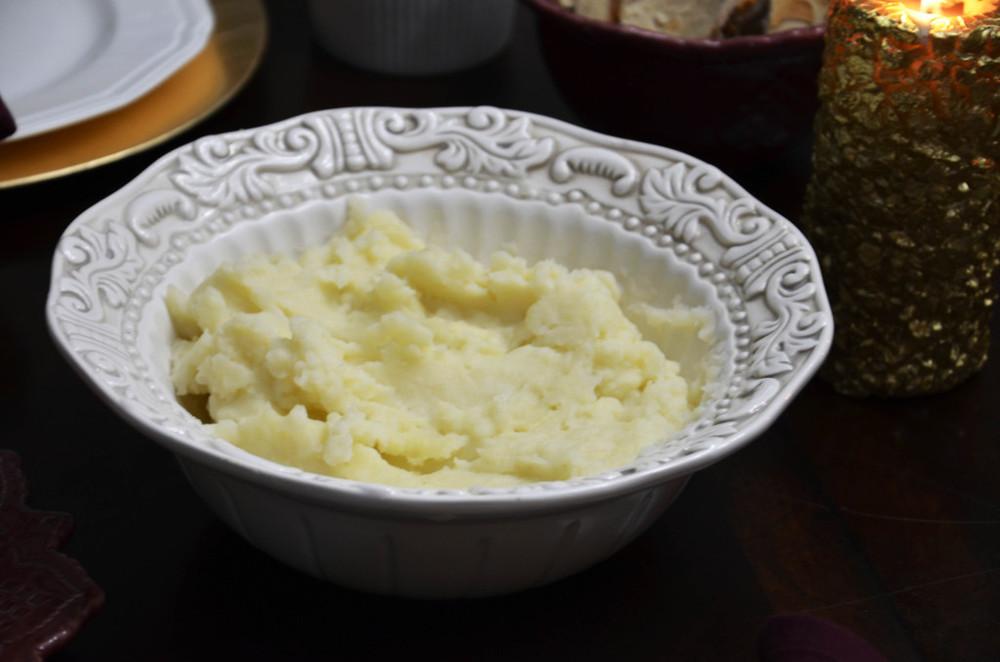 Thanksgiving - Garlic Mashed Potatos