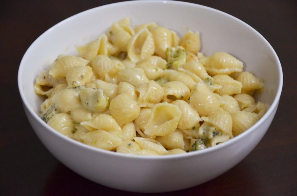 broccoli and cheddar