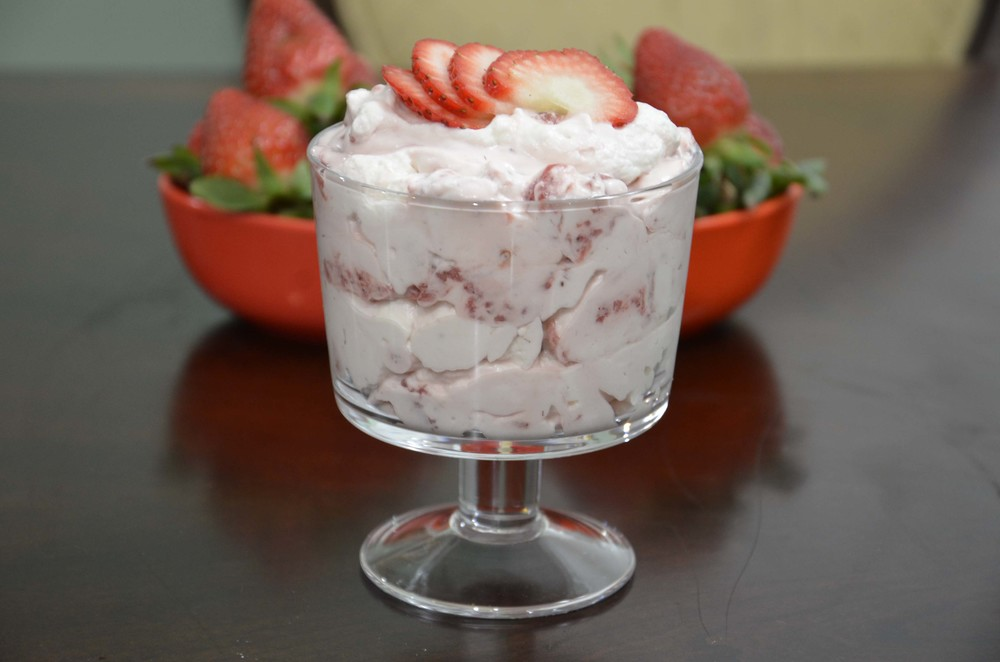 strawberry fool