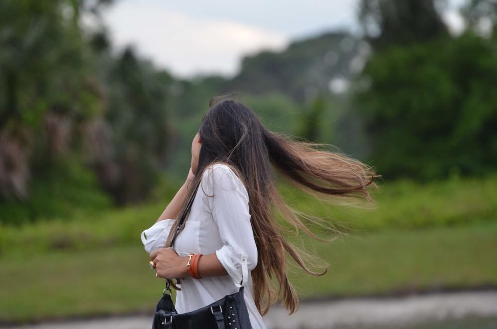 Epic hair flip