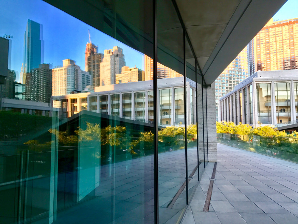 Lincoln Center with Reflections