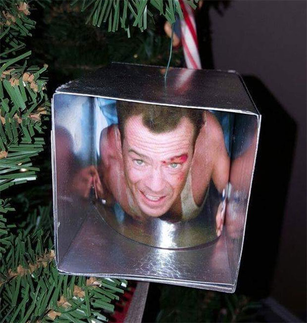 Whoever made this ornament gets it.
