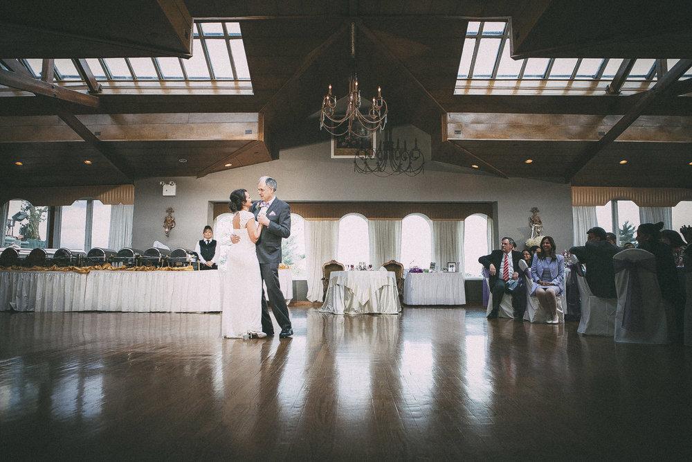 Mercedes + Peter wedding