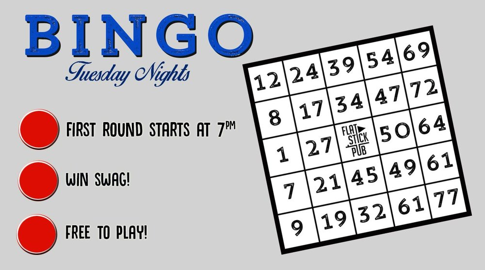May 1st - Bale Breaker Bingo Brewers Night  May 15th - Boundary Bay Bingo Brewers Night