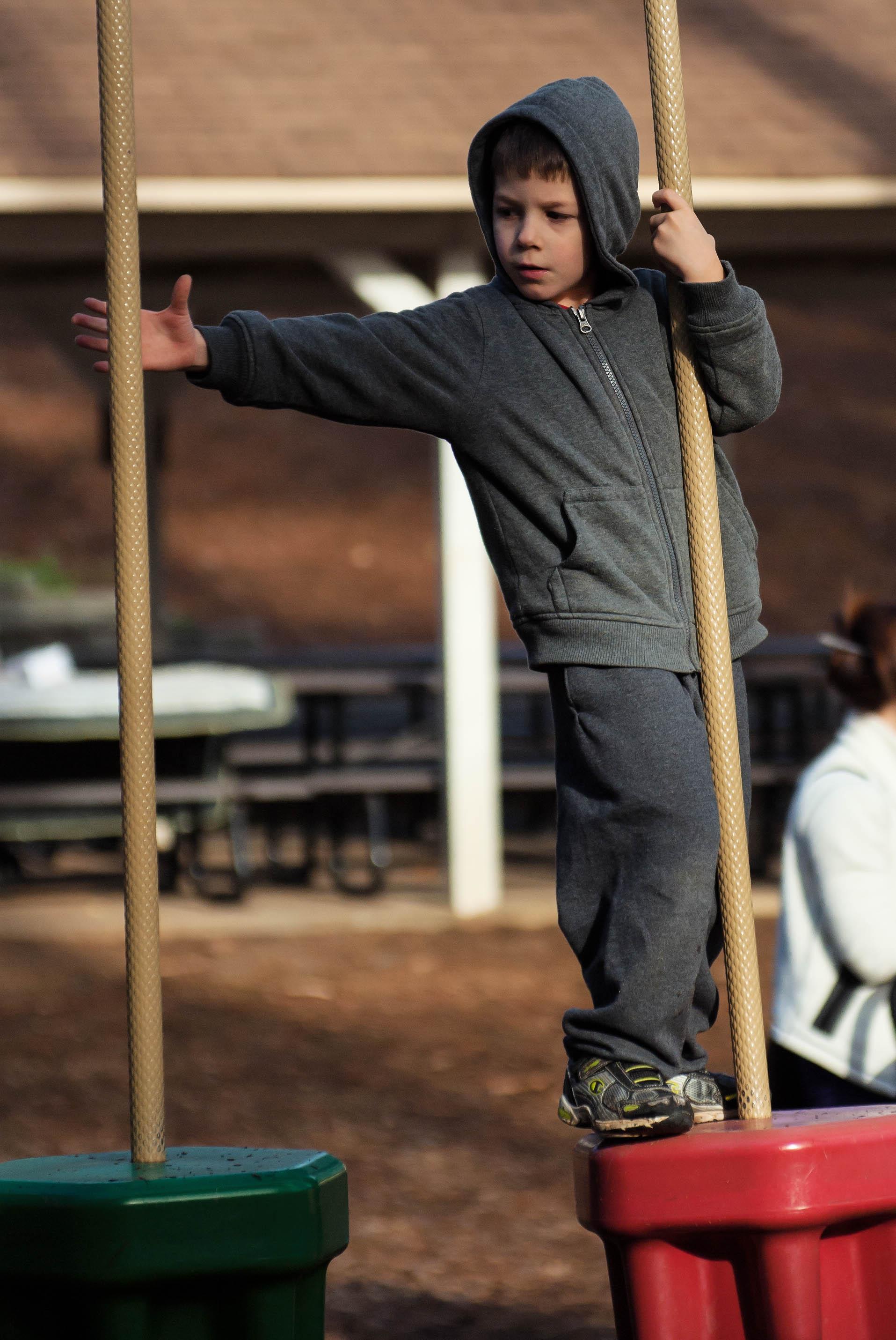 Make the leap boy!