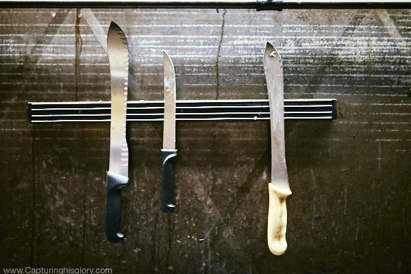 The Knife selection....