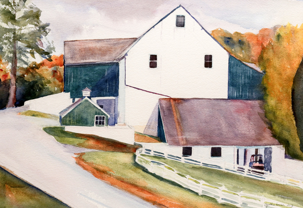"""Barn at Lookout Point"""