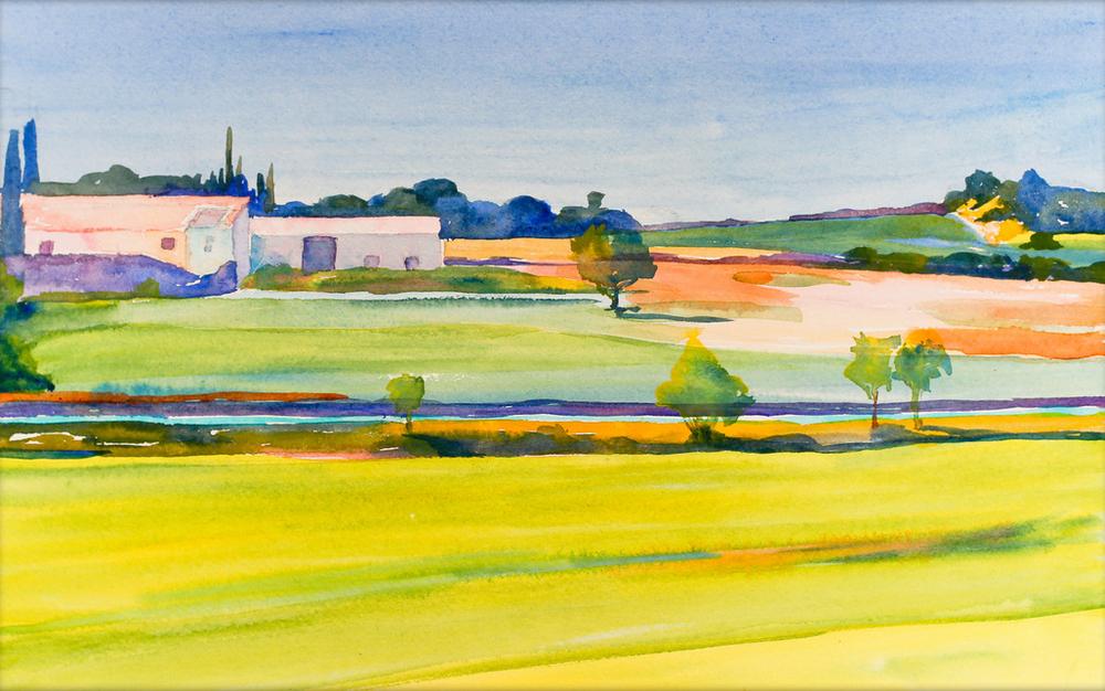 Murs, Yellow Fields 2013