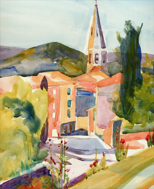 Steeple at St. Saturnin Les Apts