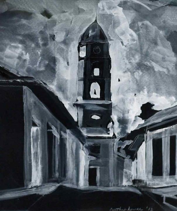 """""Church Steeple Trinidad"""