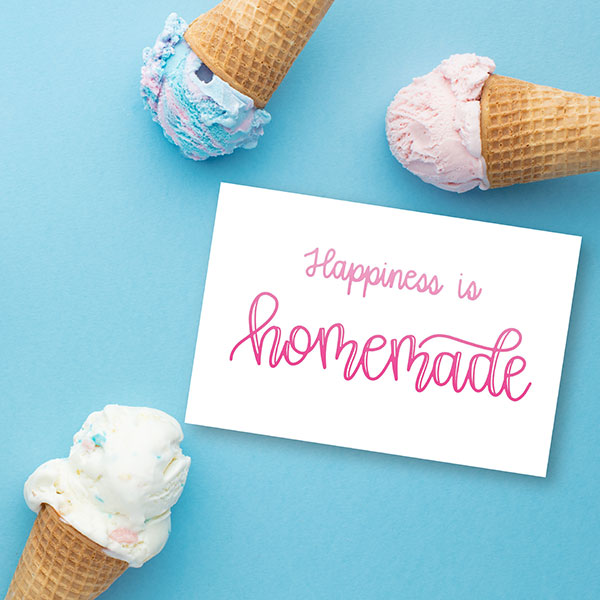 Friday Freebie | Happiness is Homemade