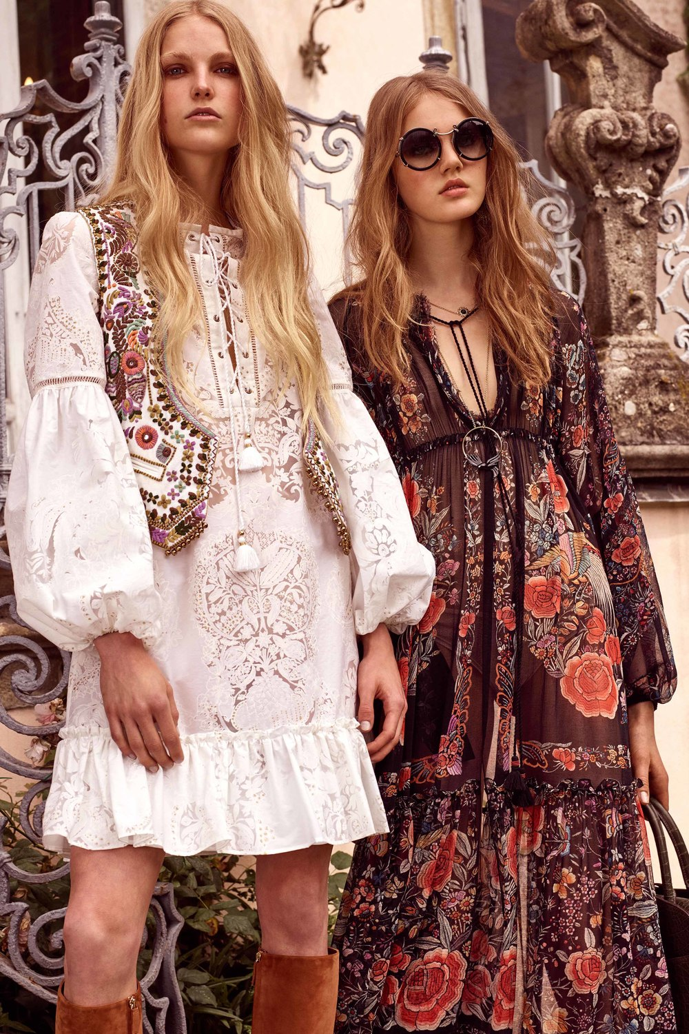 burned out details, floral bliss, embroidered details, tassles