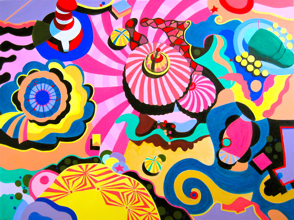 """""""Carnival"""" by Toni Silber-Delerive"""