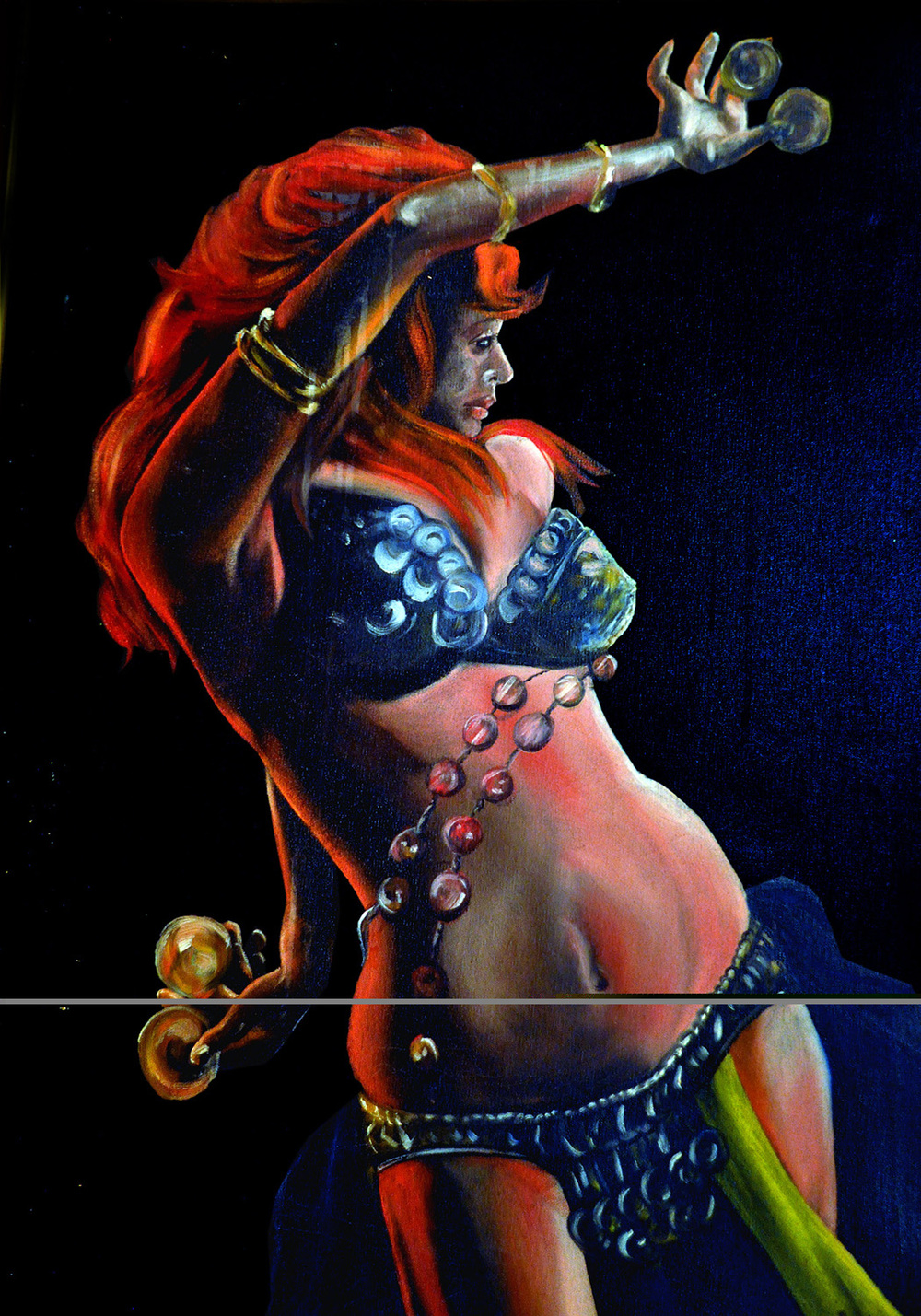 "Rudy Martin for ""Belly Dancer"""