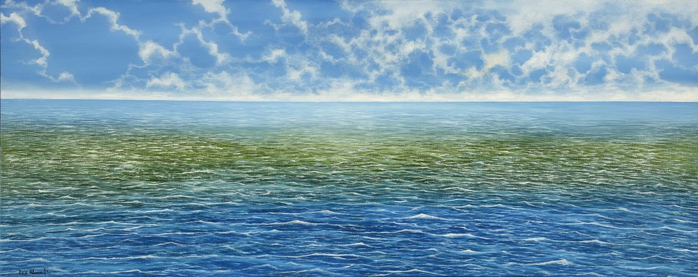 """The Sea""  Rene Alvarado"
