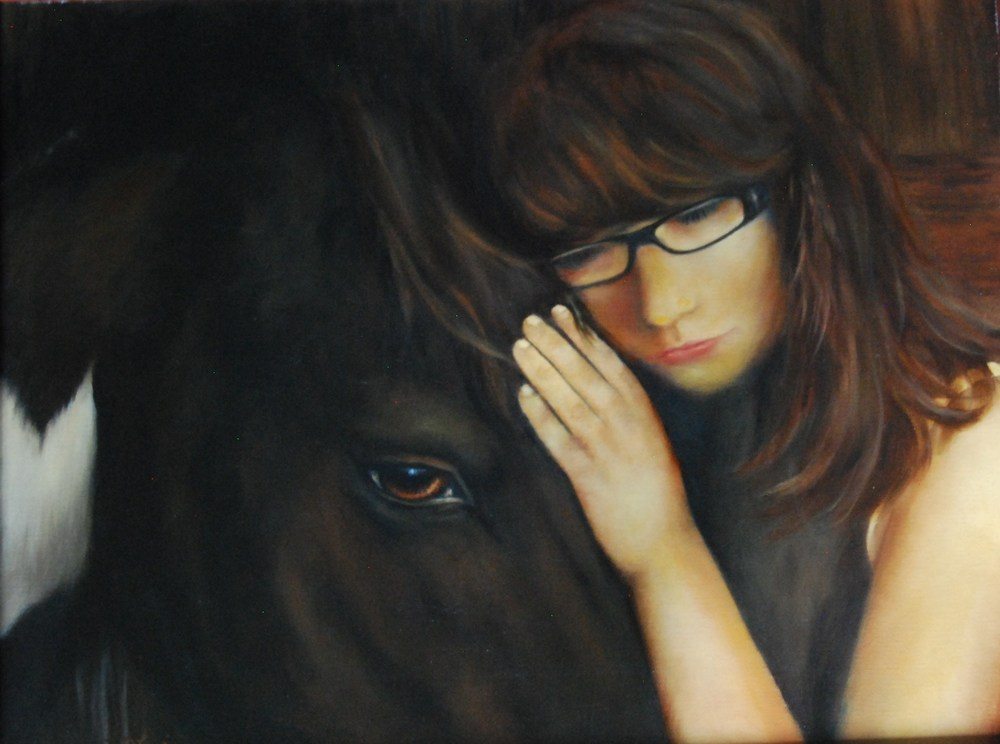 "Lorie Turpin for ""A Girl and Her Horse"""