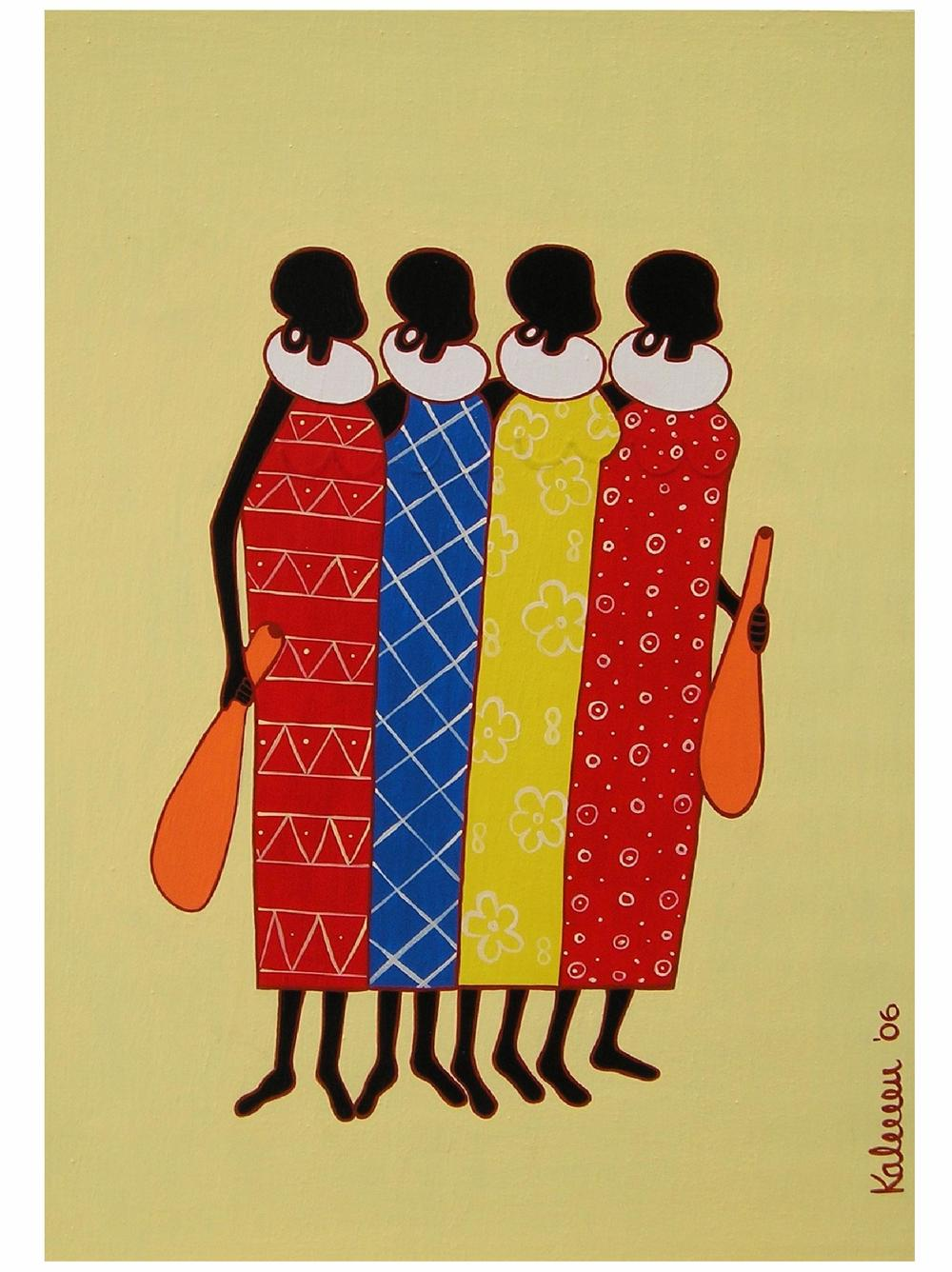 "Birgit Kalkofen for ""Masai Women I"""