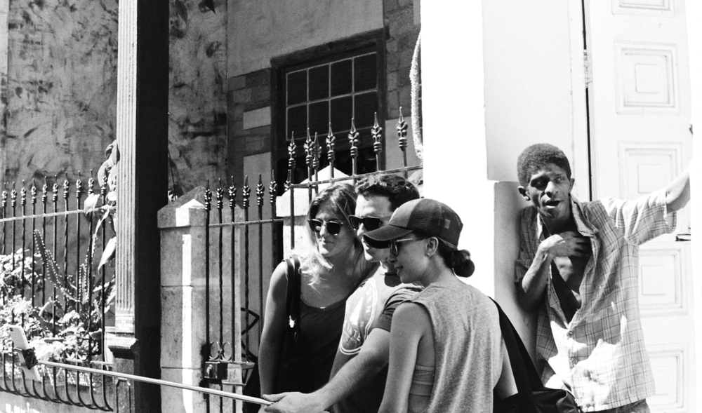 Selfie Stick in Havana Cuba
