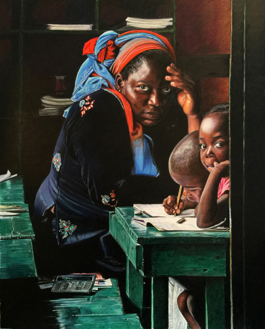 """Teacher"" by Wendy Layne"